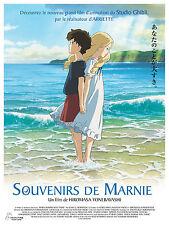 SOUVENIRS DE MARNIE Affiche Cinéma / Movie Poster STUDIO GHIBLI 60x40