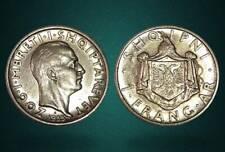 1 FRANGA ARI . SILVER COIN . ALBANIA 1935 - no 14