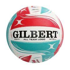 NEW Gilbert Super Netball All Team Logo Ball from Rebel Sport