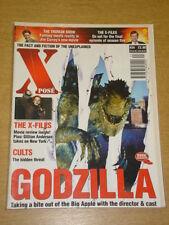 XPOSE #24 VF 1998 JULY VISUAL IMAGINATION UK MAGAZINE GODZILLA X-FILES TRUMAN S