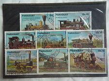 PARAGUAY - Trains, locomotive - 1975 - T29