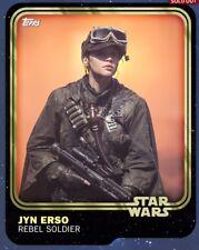 Topps Star Wars Card Trader Gold Anniversary - Jynn Erso