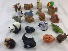 ADORABLE LOT Fisher Price Little People Zoo Animals 20