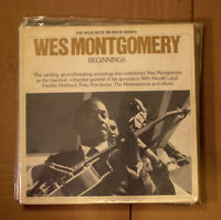 Wes Montgomery 2 LP Beginnings Blue Note Re issue Series VG+ VG w dust jackets