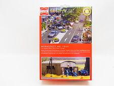 """Lot 13164   busch ho 1064 """"taller"""" kit """"metal work Shed"""" kit nuevo en OVP"""