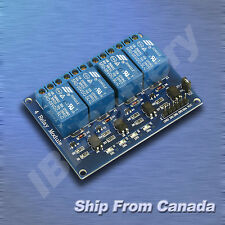 4-Channel Optic-Isolated Relay Module Low Trigger 3.3V-5V Arduino / Raspberry PI