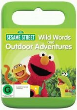 SESAME STREET: WILD WORDS & OUTDOOR ADVENTURES - BRAND NEW & SEALED DVD (ELMO)