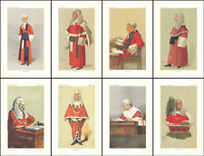 PEOPLE  /  JUDGES  - 10  SETS  OF  8  JUDGES  OF VANITY FAIR  -  (REPRODUCTIONS)