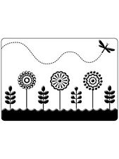 "Crafts Too Embossing Folder ""Spring Garden"" Ctfd4023 For Cards"
