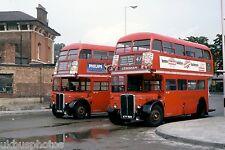London Transport RT449 & 1790 Lewisham Aug 1978 Bus Photo