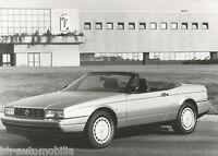 Pininfarina Werksfoto Cadillac Allanté 1990 Foto photo fotografija Original