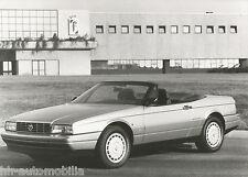 Original Pininfarina Werksfoto Cadillac Allanté 1990 Foto photo fotografija