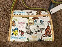 Disney Dooney & Bourke NWT Side Kicks bag purse Little Mermaid, Aladdin, Beauty