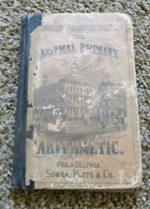 THE NORMAL PRIMARY ARITHMETIC BOOK~1869~PHILA.,PA.