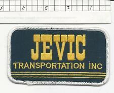 Jevic Transportation truck driver patch