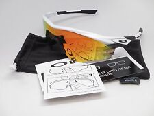 Oakley M2 Frame XL OO9343-05 Polished White Fire Iridium Sunglasses