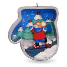 2016 Hallmark Cookie Cutter Christmas Keepsake Ornament Mouse Ice Skating #5 5th