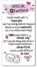Inspired Words Magnetic Bookmark - Special Grandma