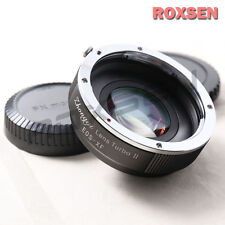 Zhongyi Lens Turbo II Focal Reducer Booster Adapter Canon EOS EF to Fujifilm FX