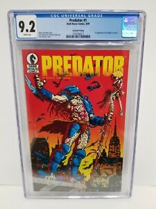 Predator #1 CGC 9.2 NM- Dark Horse 1st Appearance 🔥 2nd print UNBLEMISHED CASE