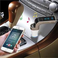 Bluetooth CAR Kit Radio FM Transmitter TF MP3 Musik Spieler A2DP Audioempfänger