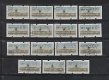 Gestempelte Briefmarken aus der Philatelie aus Berlin