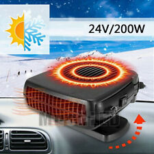 24V DC Car Auto Portable Electric Heater Heating Cooling Fan Defroster Demis_UK