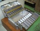Vintage MY BUDDY No. 1416 Four 4 Tray Aluminum Tackle Box