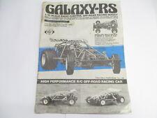 Original Vintage Marui 1/10 Galaxy-RS Complete Instruction Manual Book OZRC