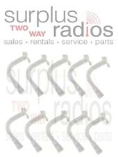 Motorola RLN5037 Clear CommPort Replacement Ear Tubes Surveillance Headset QTY10