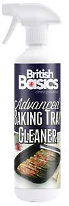British Basics 500ml Baking Tray Cleaner Kitchen Oven Pans Hob Cooker De Greaser