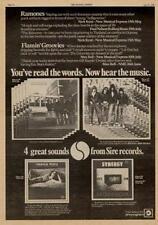 Ramones Flamin' Groovies Martha Velez UK LP advert 1976