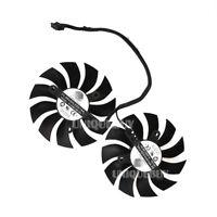 Graphics card dual fan PLA09215B12HH for EVGA GTX1050TI/1070/1080 4pin 0.55A