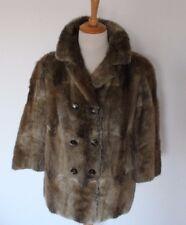 Vintage Damen Echt Pelz Jacke Winter von H.Aigner - Augsburg Gr. Ca M