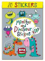 Childrens Stickers - MONSTERS & DINOSAURS by Rachel Ellen - Birthday Gift Craft