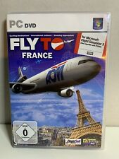 Fly To France Add-On for FS 2004 and FSX (PC DVD).