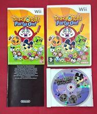 Tamagotchi Party On - NINTENDO Wii - USADO - MUY BUEN ESTADO