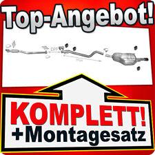 Auspuff OPEL ASTRA H 1.9 CDTi Schrägheck / GTC mit DPF +2xRohr CHROM Endrohr R48