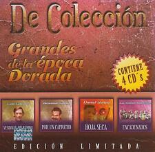 CD - Grandes De La Epoca Dorada NEW 4 CD's Edicion Limitada FAST SHIPPING !