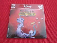 MINI JEU PC CD FLIPPER FRAYEUR MONSTRES & Cie DISNEY NEUF Scellé