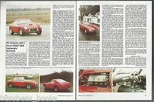 1977 FERRARI 250GT SWB British article, Ferrari 250GT SWB Lightweight Berlinetta