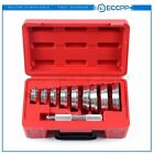 Set of 10PCS Bearing Race and Seal Install Driver Wheel Axle 9 Discs Collar Axle