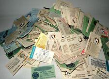 More details for large collection, various vintage brand cigarette vouchers, john player /embassy
