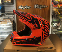 New Troy Lee Designs SE4 Factory Orange Youth Medium MX Helmet TLD Motocross KTM
