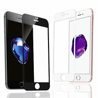 9H Full Coverage HD Tempered Glass Film Screen Protector For iPhone 7/ 7 Plus 6S