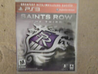Saints Row: The Third (Sony PlayStation 3, 2011)