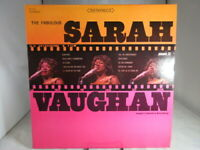 The Fabulous Sarah Vaughan LP Record PICKWICK SPC-3035  VG+ cover NM