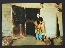 BUGNICOURT (59) PRODUCTRICE D'AIL , Salle de fumaison en 1991