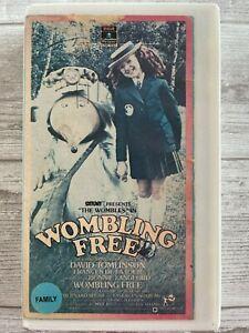 Wombling Free VHS David Tomlinson Frances De La Tour Bonnie Langford 1977