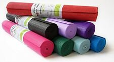Kid Size Yoga Mat - 24x60x3/16  lots of colors, Non toxic, Bean Products.